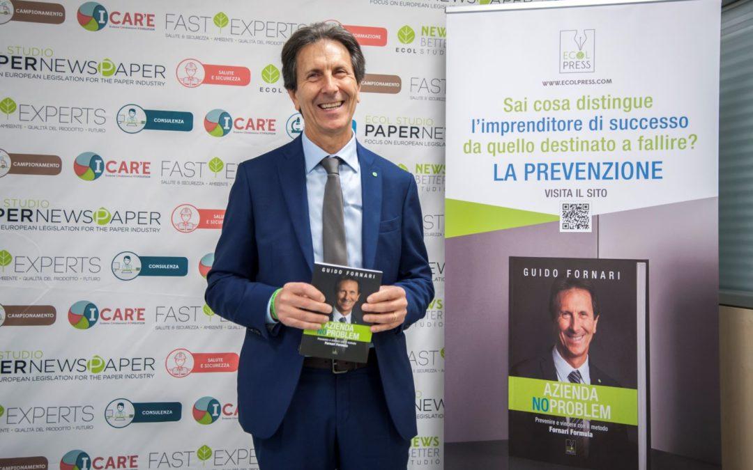 """Guido Fornari presenta a Lucca il libro """"Azienda No Problem"""""""